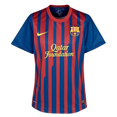 Barcelona Authentic Home Shirt 2011-12