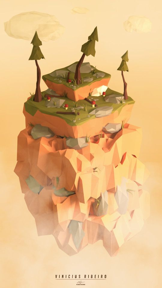 Top Of The Mountain, Vinicius Ribeiro on ArtStation at…