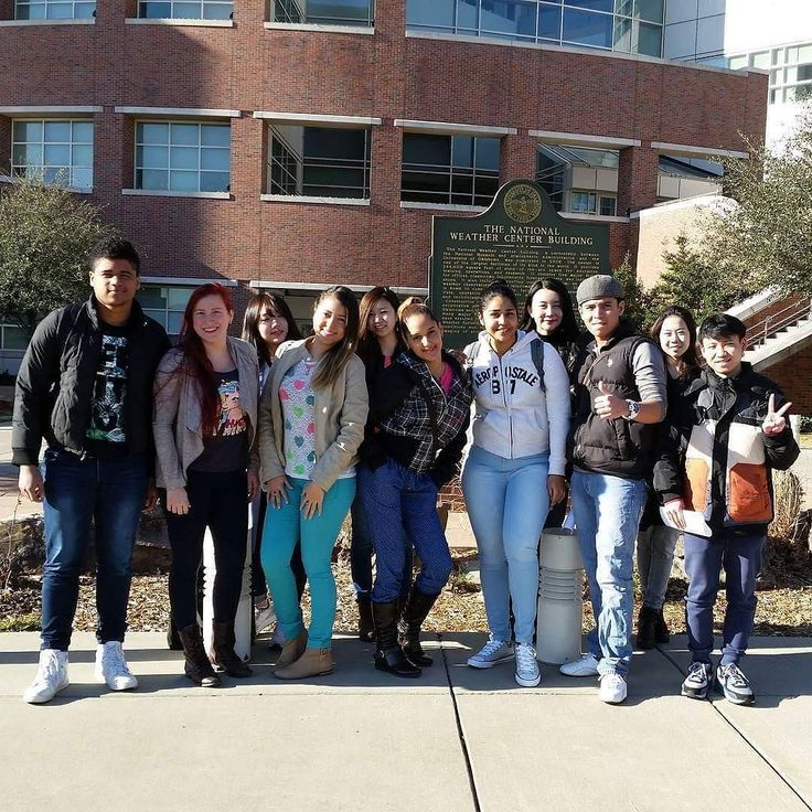 TLC - Ada students enjoying the National Weather Center in Norman Oklahoma. #tlcada1 #esl #studyabroad #studyinthestates #english #englishlanguage #eastcentraluniversity #Panama #thelangiagecompany by tlcada