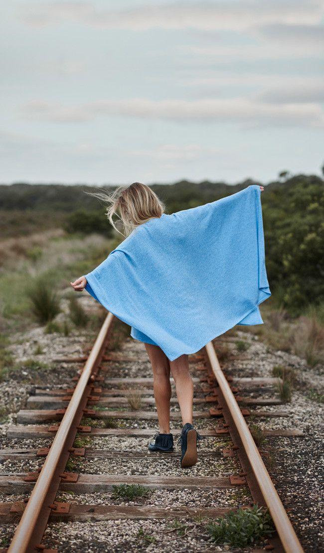 winter 2016 collection: sassind melbourne.  100% merino oversized wrap $189  photographer: nikole ramsay hair + makeup: kate radford