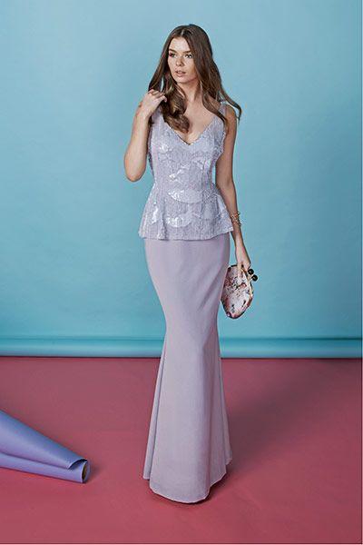 Lovely lavender... Dress: Rachel Gilbert