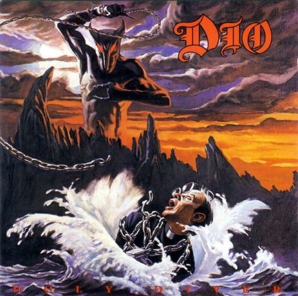'80's metal band album covers | Album cover of the demonic heavy-metal Rock band DIO . Notice the ...