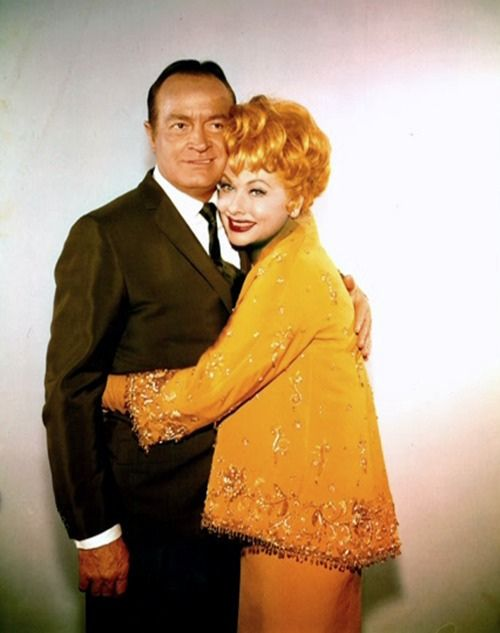 Bob Hope & Lucille Ball — this publicity photo was either for The Facts of Life (1960) or Critic's Choice (1963)