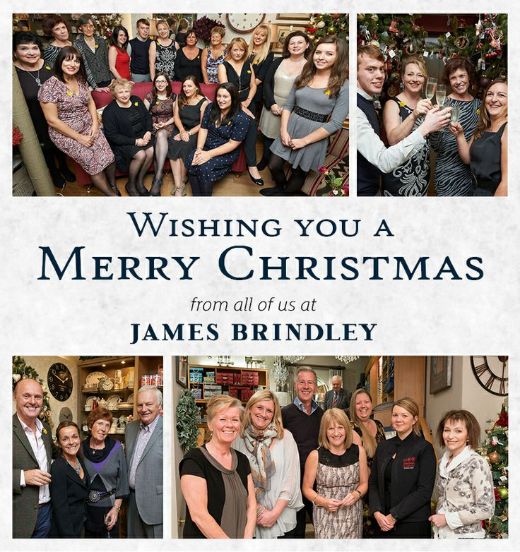 Merry Christmas to all our Pinterest friends from James Brindley!