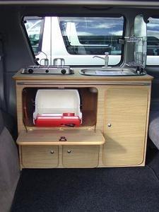 Mazda Bongo Portable Kitchen Conversion Unit