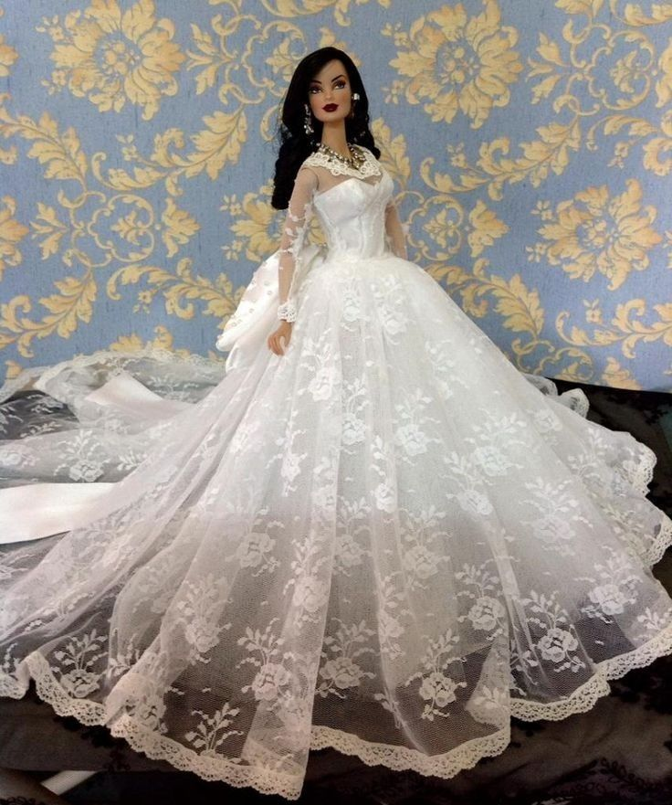 466 Best Bride Dolls Images On Pinterest