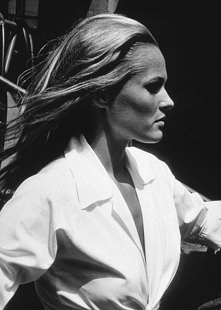 Ursula Andress  #white shirt
