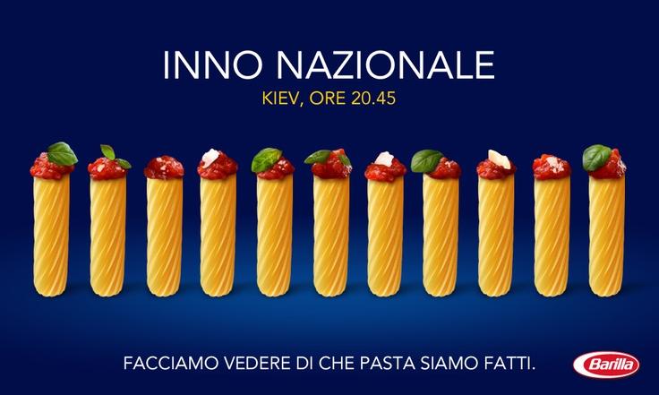 Inno nazionale #Barilla http://www.facebook.com/Barilla