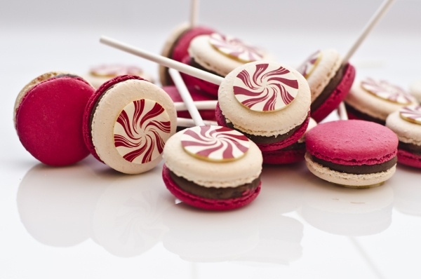 Luxbite - Christmas Desserts by Ashley Ng, via Behance