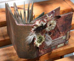 Paperbag Scrapbook - TUTORIAL