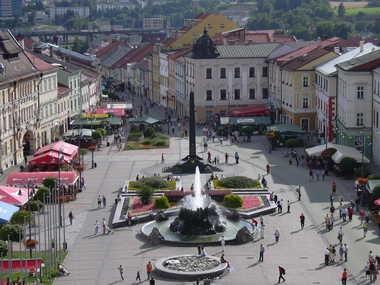 Platz des Slowakischen Nationalaufstandes in Banská Bystrica