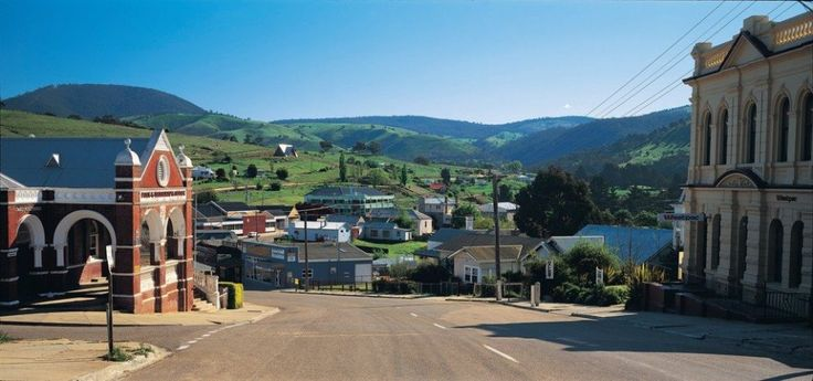 Town of Omeo, Great Alpine Road, Victoria