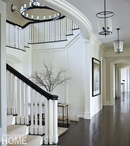 Beautiful Front Hall And Staircase: Best 25+ Entry Stairs Ideas On Pinterest