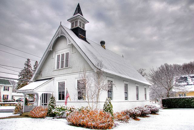 Pine Orchard Chapel (Branford, Connecticut, United States) - where Latham and I got married!