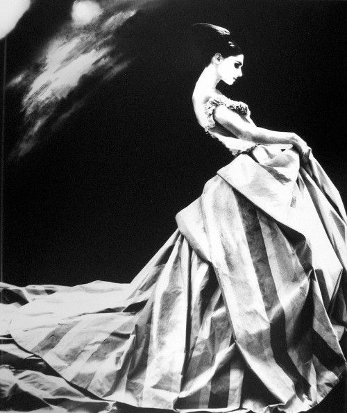 Night Bloom, Annaliese Seubert-Givenchy by Galliano 1996, by Lillian Bassman