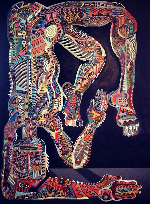 Zio Ziegler, The Painted Cage, 2012