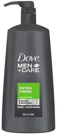 Dove Men+Care Extra Fresh Body Wash with Pump 23.5 oz