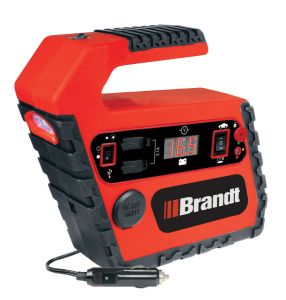 Lithium-Ion PowerStation -Compact, lightweight and POWERFUL power source for everyday use in powering up USB or 12-volt devices and emergency use such as power failures or boosting your car battery.