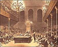 June 29, 1767: The British parliament passes the Townshend Revenue Act, levying taxes on America.