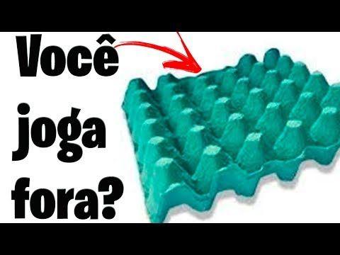 NÃO Jogue no LIXO CAIXA de OVOS e BORRA de CAFÉ@Artesanato. - YouTube