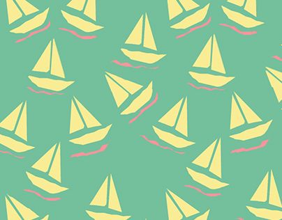 "Pattern Design ""Sailing"" by Maria Therese"