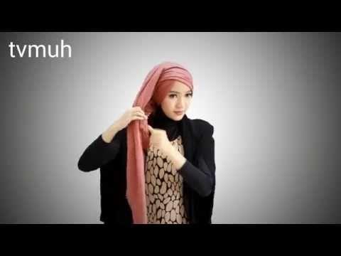 Maxi dress pinkemma tutorial hijab