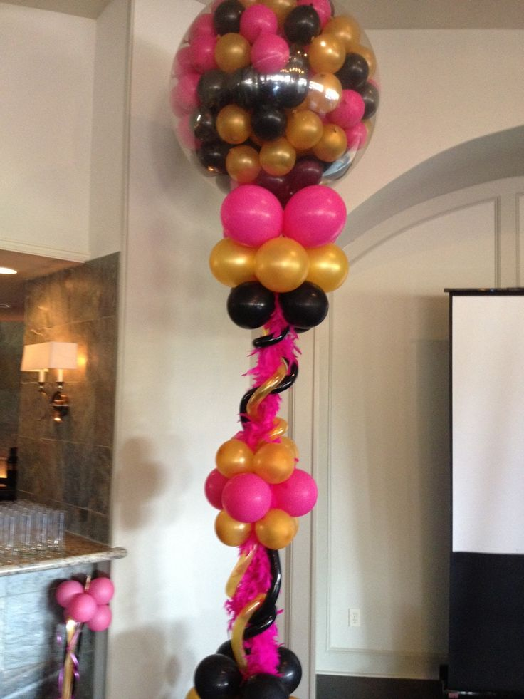 What's a party without balloons? Mike from Almost Anything