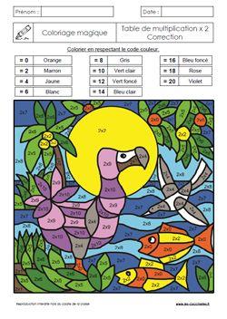 25 best ideas about coloriage magique gs on pinterest for Les tables de multiplications ce2