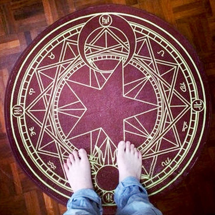 This rug is not only great for performing spells, but also makes a perfect…