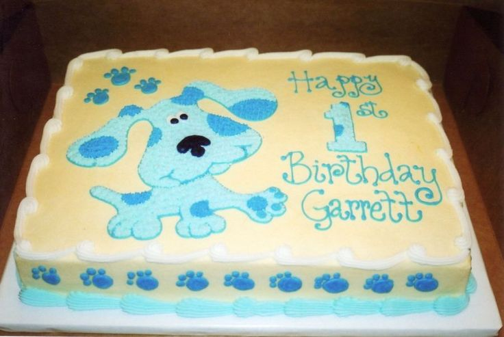 24+ Blues clues cake decorations trends