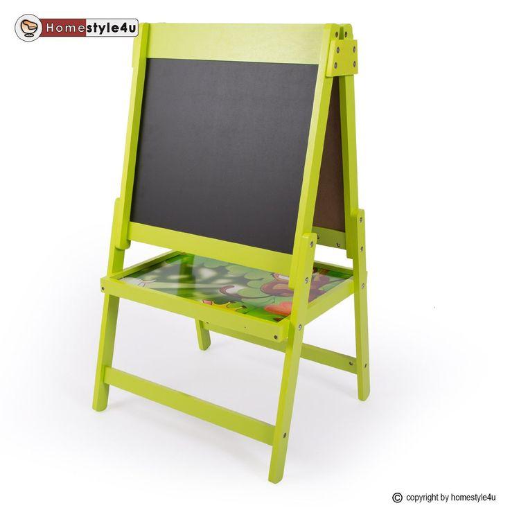 homestyle4u kindertafel maltafel magnettafel standtafel schreibtafel kinder tafel kreide amazon. Black Bedroom Furniture Sets. Home Design Ideas