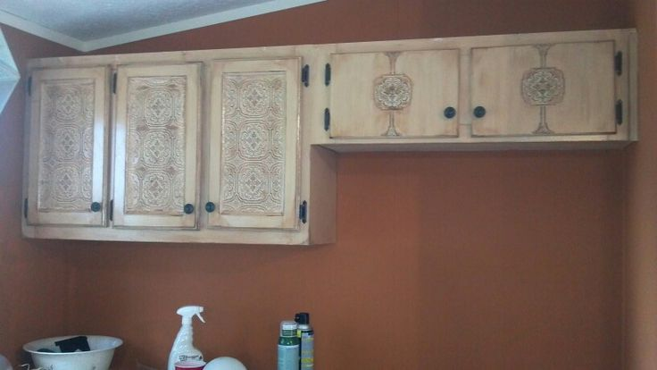 my re done kitchen cabinets paintable wallpaper mocha