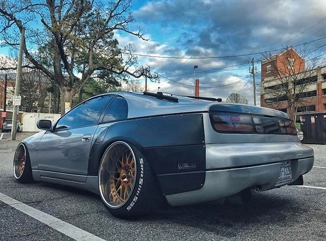 #Nissan_300zx #Z32 #Fairlady #Modified #Widebody #Slammed #Stance #Camber #Fitment #WorkWheels