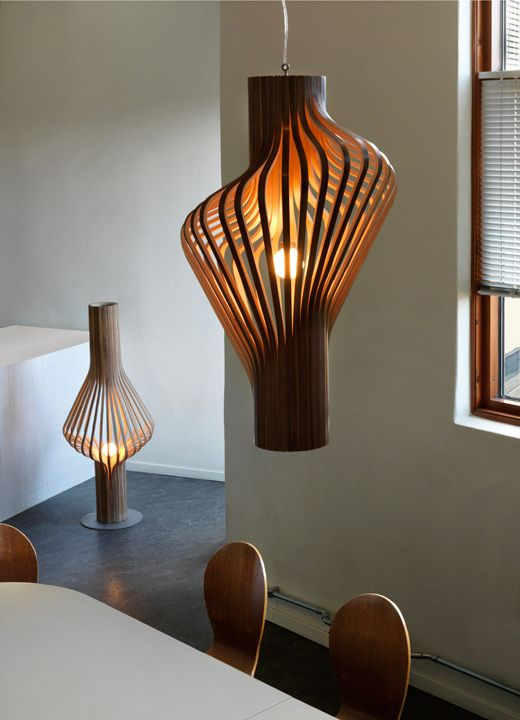 """Diva"" pendant lamp from Pur Norsk, designed by Peter Natedal and Thomas Kalvatn Egset"