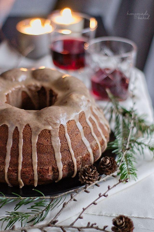 homemade and baked Food-Blog: {Rezept} Glühwein-Gugelhupf mit Zitronen-Zimt-Guss...