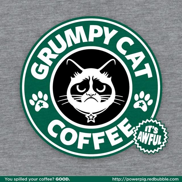 Starbucks Grumpy Cat