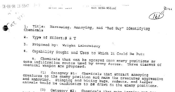 Exército dos EUA tentou criar uma 'bomba gay' - Mega Curioso