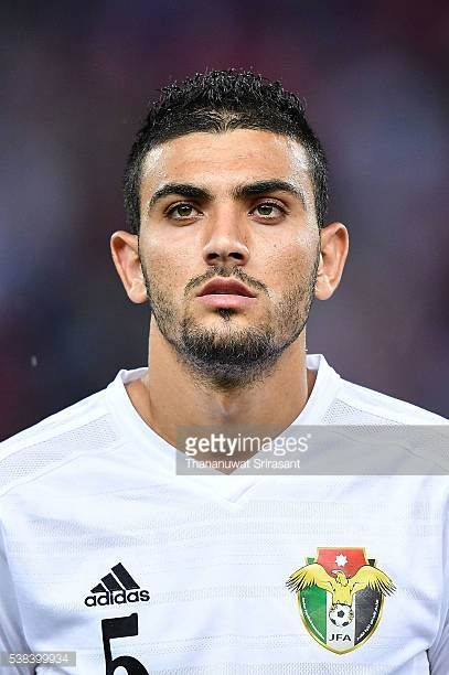 Mohannad Al Souliman of Jordan poses during the 44th Kings Cup Final match between Jordan and Thailand at Rajamangala Stadium on June 5 2016 in...