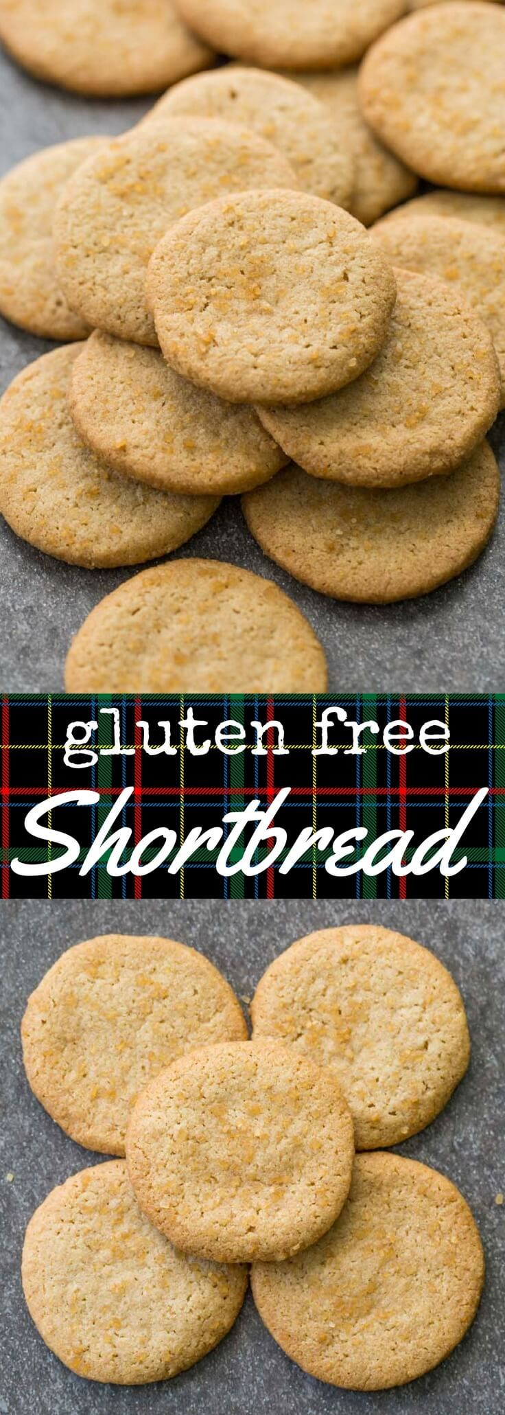 Traditional style gluten free shortbread made with only five ingredients: gluten free oat flour, butter, vanilla, sugar, and salt.  Pure and simple, with a perfect crunch and a tantalizingly buttery aroma. via @recipeforperfec sponsored by @bobsredmill #glutenfree #glutenfreerecipes #glutenfreebaking #glutenfreedesserts #shortbread #cookies