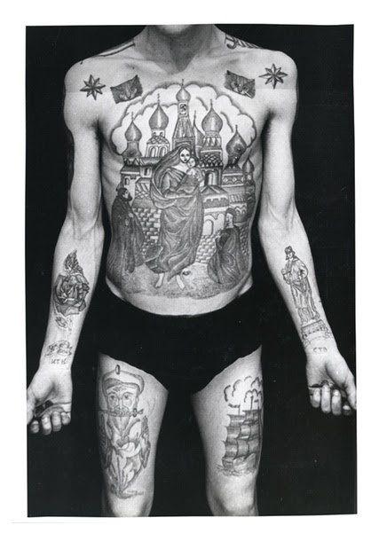 Tatuajes Carcelarios Rusos Sergei Vasiliev 17