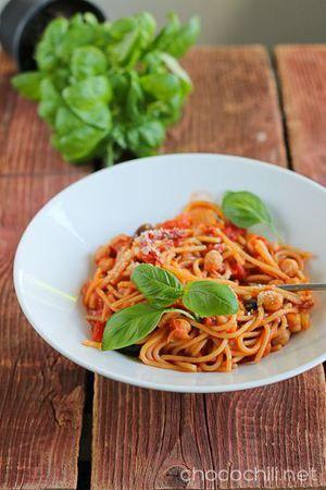 Vegaanihaaste - Yhden kattilan pasta