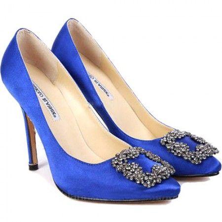 Manolo Blahnik Bella Swan Shoes Price
