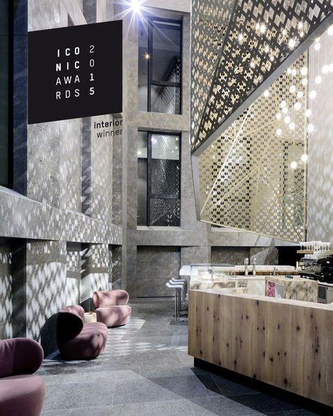Migros Elements - decorative sheets - Perforated metal sheets taken a step further - KSP Architekten Frankfurt - by moradelli.de