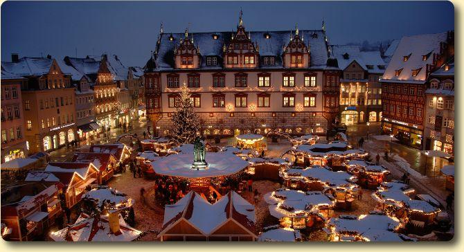 Coburg, Germany Christmas Market