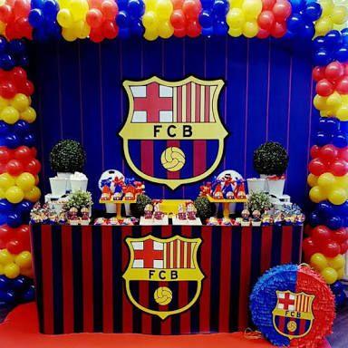 Resultado de imagem para centro de mesa del barcelona