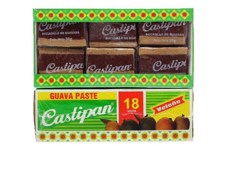 Castipan Guava Paste Bocadillo Veleño 18ct