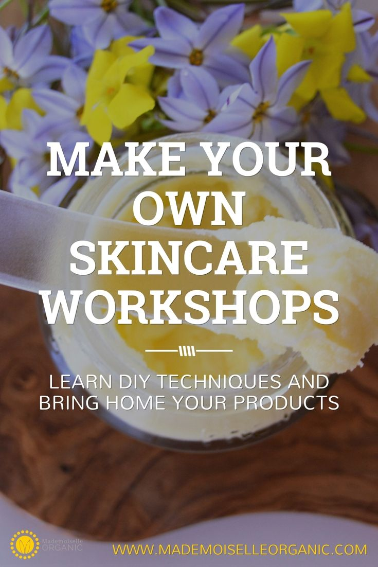 During this workshop, participants will learn all the prerequisites of DIY skincare (hygiene, safety guidelines…) and everything they need to know to start making their own skincare at home. They'll also make a body scrub, a hand balm and a face serum, using organic and natural ingredients. Places are limited to only 3 participants, so book early to avoid disappointment! Click through for more information. Happy DIY!