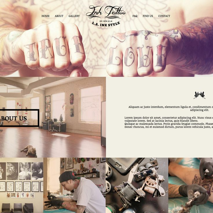 Are you searching for a new look for your tattoo shop's website? This completely free and responsive website template has been built using HTML5 and CSS3 and can be customized to showcase your beautiful tattoo artwork in the image gallery. Engage your potential clients with the simple and clean look that this template has to offer. Your work will really stand out! Give this a download today and let us know what you think in the comments.