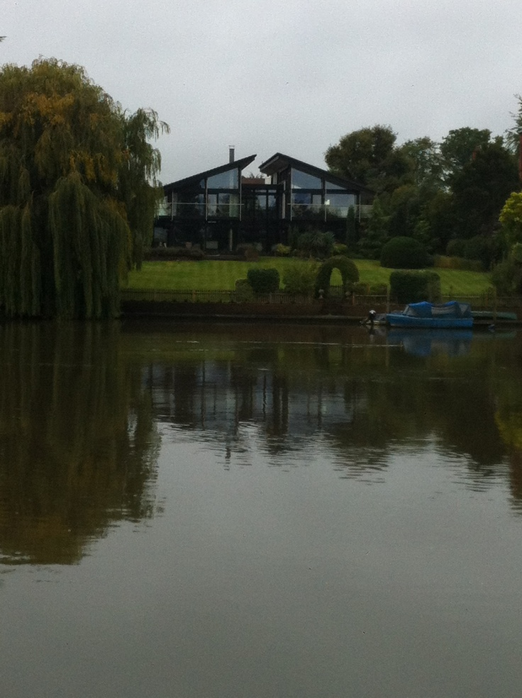 Huf house by the river in Kingston