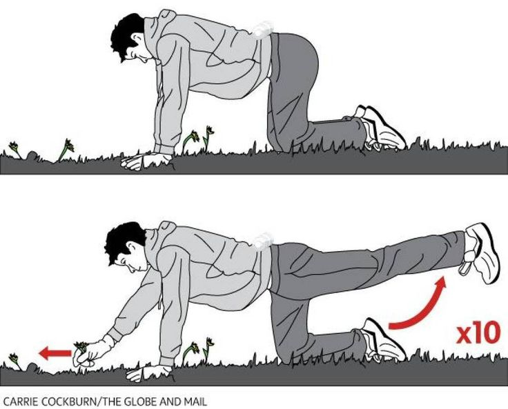 The Constant Gardener! Work your lower body and core as you garden! Stealth Workout. The Globe and Mail